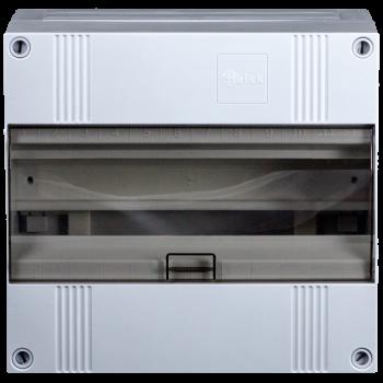 Lege groepenkast 12 modulen met buisinvoer, IP40
