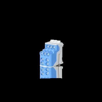 Klemmenblok Blauw 2 x 25mm - 6 x 10mm