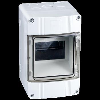 4 Modulen kast spatwaterdicht IP65 63A