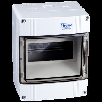 7 Modulen kast spatwaterdicht IP65 63A