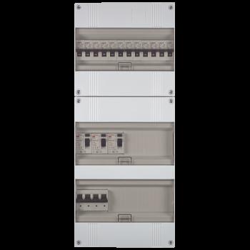 3 Fase groepenkast 535x220 (HxB) met 12 lichtgroepen