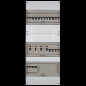 3 Fase groepenkast 535x220 (HxB) met 16 lichtgroepen