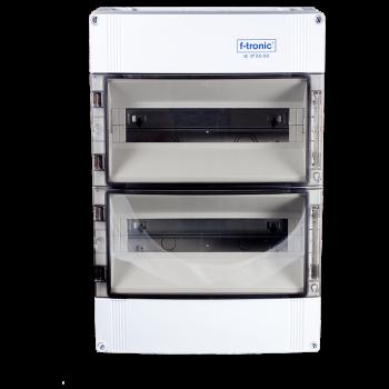 28 Modulen kast spatwaterdicht IP65 63A