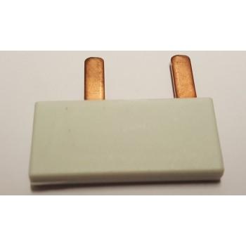 Kam-rail NUL verbinder 2 x 1M STIFT 10mm