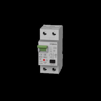 Iskra Aardlekautomaat 1F+N 6A 300mA B Type A 10kA