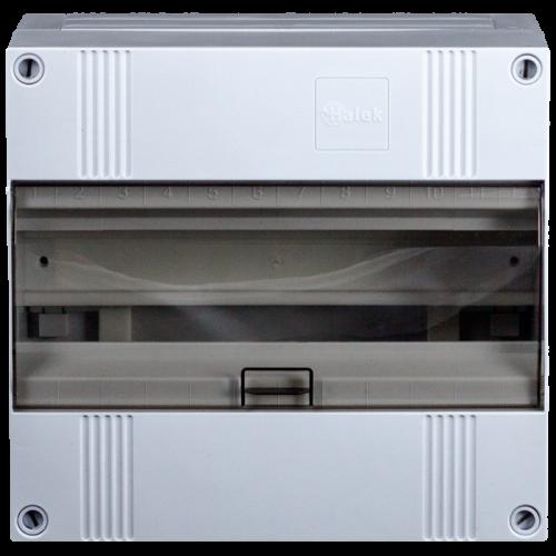 1x12 modulen groepenkast met buisinvoer IP40