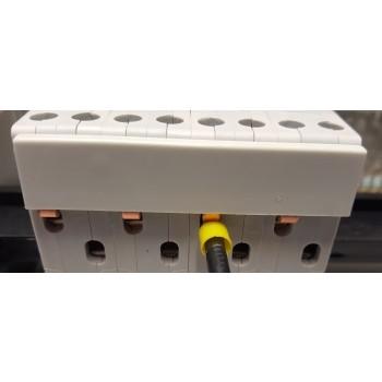 Toepassing Fase Rail 4-voudig Stift tbv 1N Installatieautomaten 90 graden 10mm
