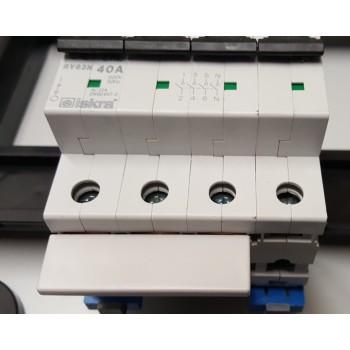 Toepassing Kam-rail 3 fase brug VORK 10mm