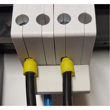 Toepassing Nul Rail 2-voudig Stift tbv 6kA Automaten