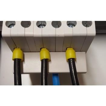 Toepassing Nul Rail 3-voudig Stift tbv 6kA Automaten