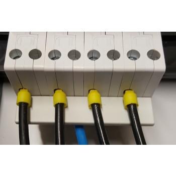 Toepassing Nul Rail 4-voudig Stift tbv 6kA Automaten
