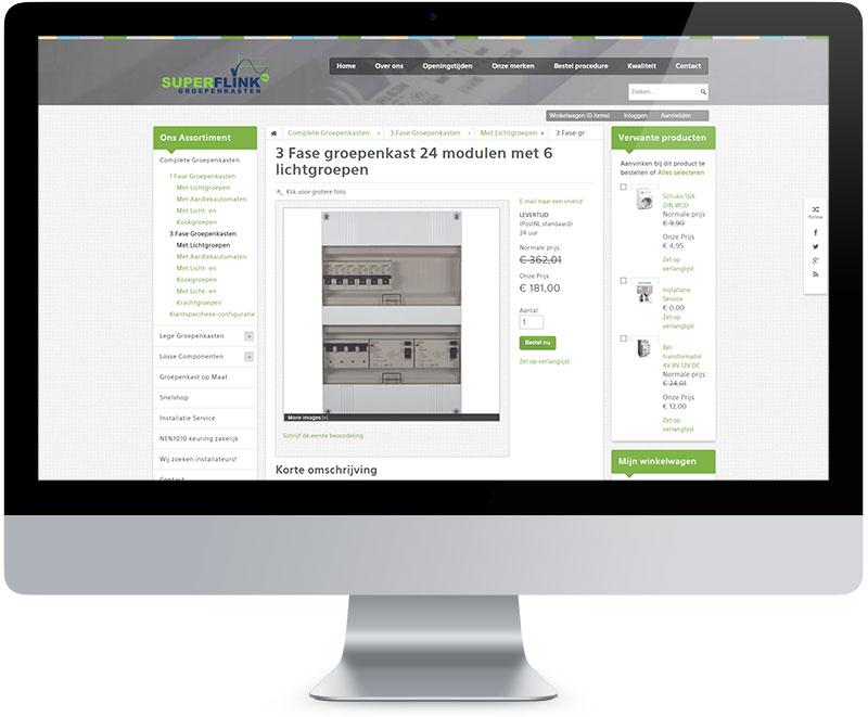 SuperFlink.nl: klantvriendelijke webshop